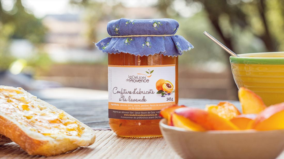 logo packaging les delices de provence