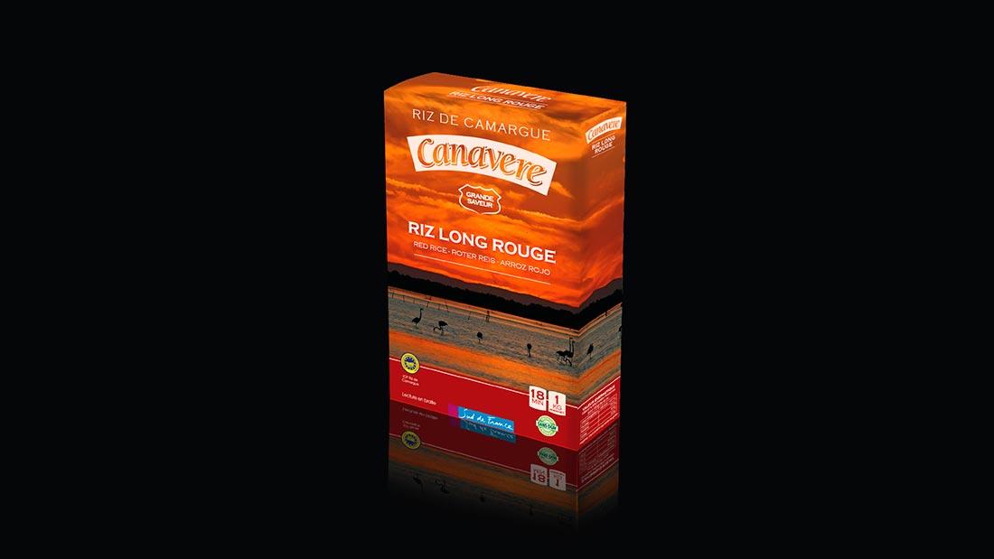 Packaging Riz de Canavere