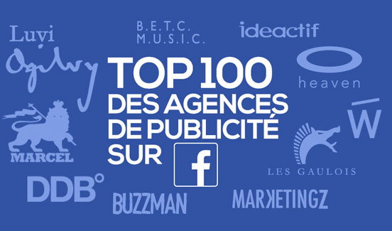 actualites top 100 agences facebook