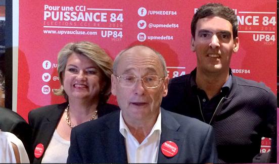Élection CCI Vaucluse - Rémi Vicente engagé avec Puissance 84