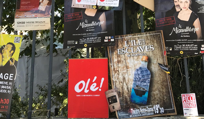 Arome fait son Festival d'Avignon