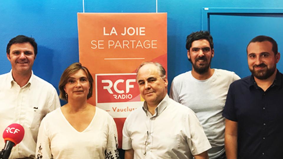 Rémi Vicente sur RCF RADIO