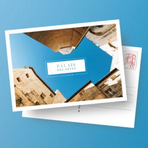 Carte postale - Palais des Papes d'Avignon