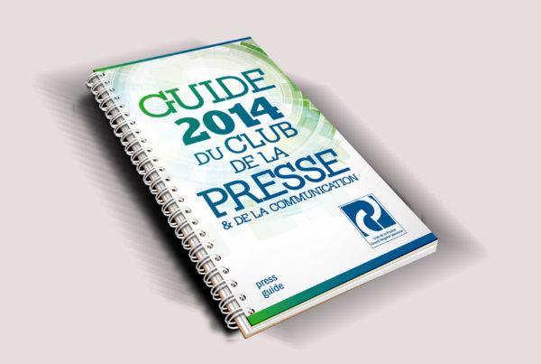 Guide 2014 du club de la presse et de la communication