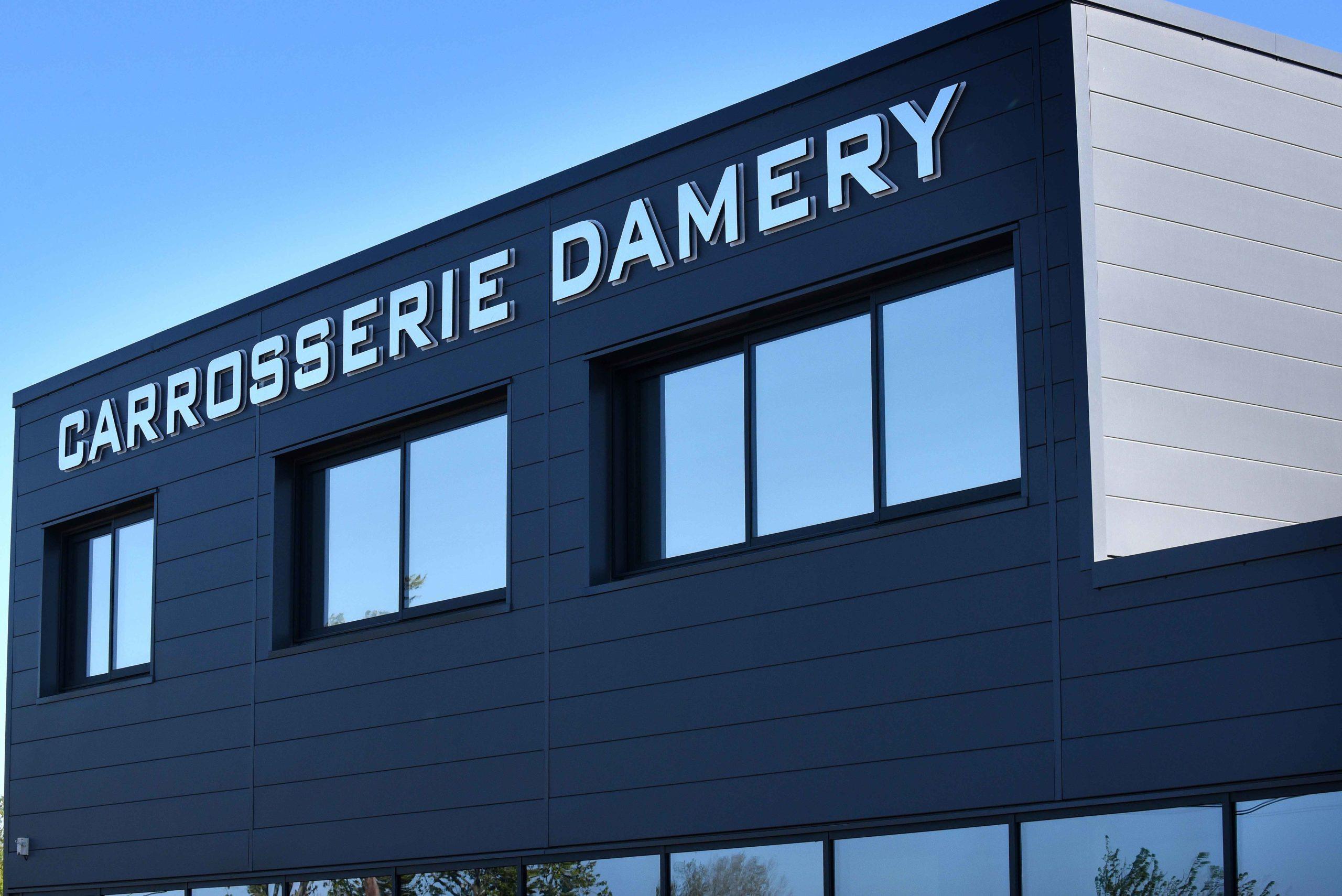 Création site internet vitrine Carrosserie Damery