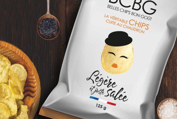 Packaging Chips BCBG