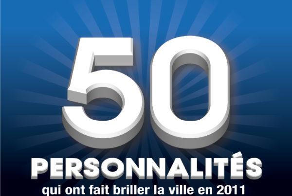 Magazine des 50 personnalités 2012