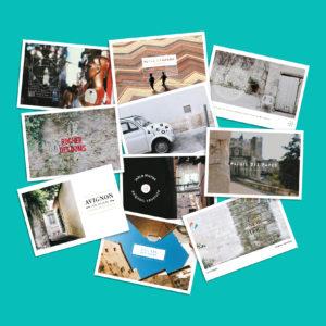 Coffret de 10 cartes postales Avignon Sometimes