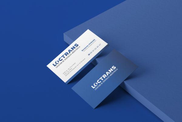 Loctrans, identité visuelle logo