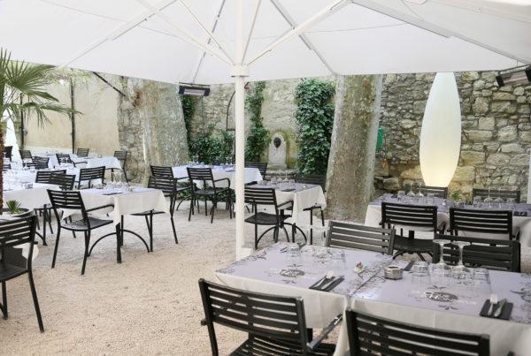 Site internet du Restaurant La Cour d'Honneur