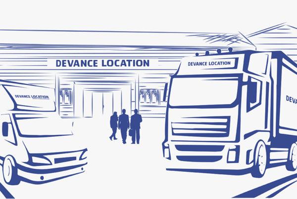 Site internet Devance Location - Location de véhicules utilitaires