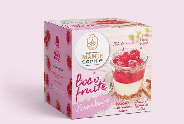 Mamie Sophie PMS, packaging dessert