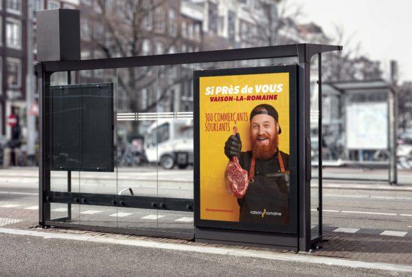 Vaison la Romaine Campagne publicitaire