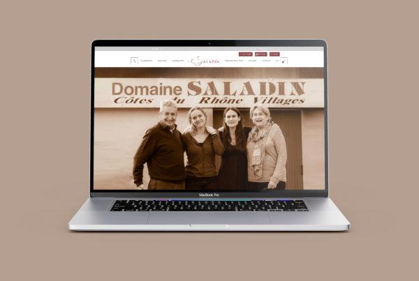Domaine Saladin E-commerce