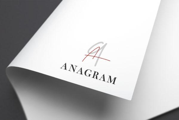 Anagram branding marque vin
