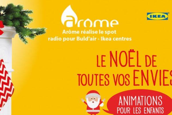 Spot radio Ikea Buld'air - Noël