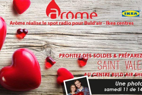 Spot radio Ikea Buld'air - Saint Valentin