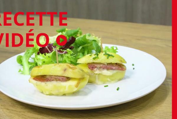 Tasty vidéo Dussurgey #3 - Recette sandwich de pommes de terre et raclette