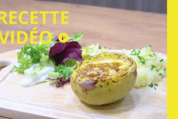 Tasty vidéo Dussurgey #4 - Recette pomme de terre farcie oeuf cocotte